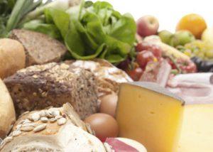 Lebensmttel in der Ernährungsakademie