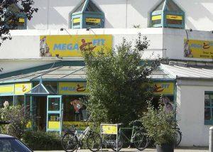 Megafit Radebeul Fassade